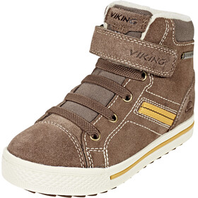 Viking Eagle III GTX Shoes Junior Taupe/Mustard